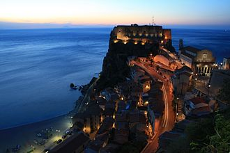 Province of Reggio Calabria - Scilla and its castle.
