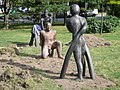 Sculptures, Moravské náměstí, Brno.jpg
