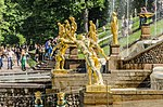 Sculptures on the Grand Cascade of Peterhof 03.jpg