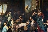 Scuola Grande dei Carmini (Venice) - Sala capitolare - L'adorazione dei Magi 1704 - Gregorio Lazzarini.jpg