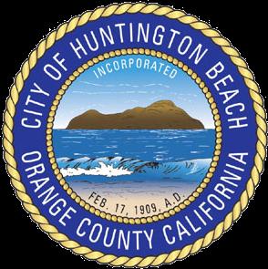 Official seal of Huntington Beach, California