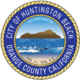 Seal of Huntington Beach, California.png