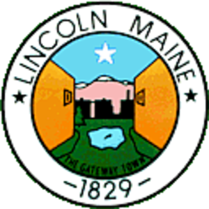 Lincoln, Maine - Image: Seal of Lincoln, Maine