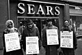 Sears Roebuck employees on strike against unfair labor practices, March 15, 1967. (5279693324).jpg