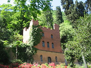 Villa Fontanelle - Image: Second Guesthouse and storeroom at Villa Fontanelle