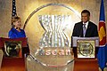 Secretary Clinton and ASEAN Secretary General Pitsuwan (3295708264).jpg