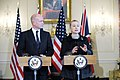 Secretary Clinton and UK Foreign Secretary Hague Hold a Press Conference (6502435461).jpg