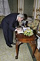Secretary Kerry Signs Condolence Book for Former British Prime Minister Thatcher.jpg