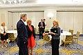 Secretary Kerry Speaks With Croatian President Grabar-Kitarovi and Ambassador Russell (29777562561).jpg
