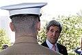 Secretary Kerry Speaks With a Marine Security Guard.jpg