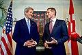 Secretary Kerry and Danish Foreign Minister Jensen Address Reporters Before a Working Dinner in Copenhagen (27117121033).jpg