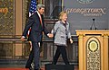 Secretary Kerry and Former Secretary Clinton Share the Stage (10873323424).jpg