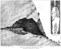 Section of Paviland Cave, Gower. Wellcome M0016521.jpg