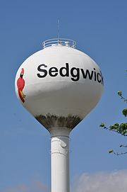 Sedgwick Water Tower.JPG