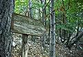 Segnale del sentiero - Parco Naturale dei Monti Aurunci.jpg