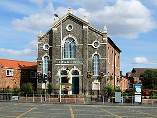 Selby District District in England