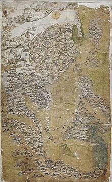 塞尔登地图