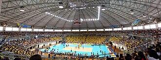 Brazil men's national volleyball team - Image: Selecao brasileira volei udi