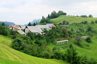 Selo nad Polhovim Gradcem Place in Upper Carniola, Slovenia