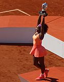 Serena Williams Won Roland Garros in 2015.JPG
