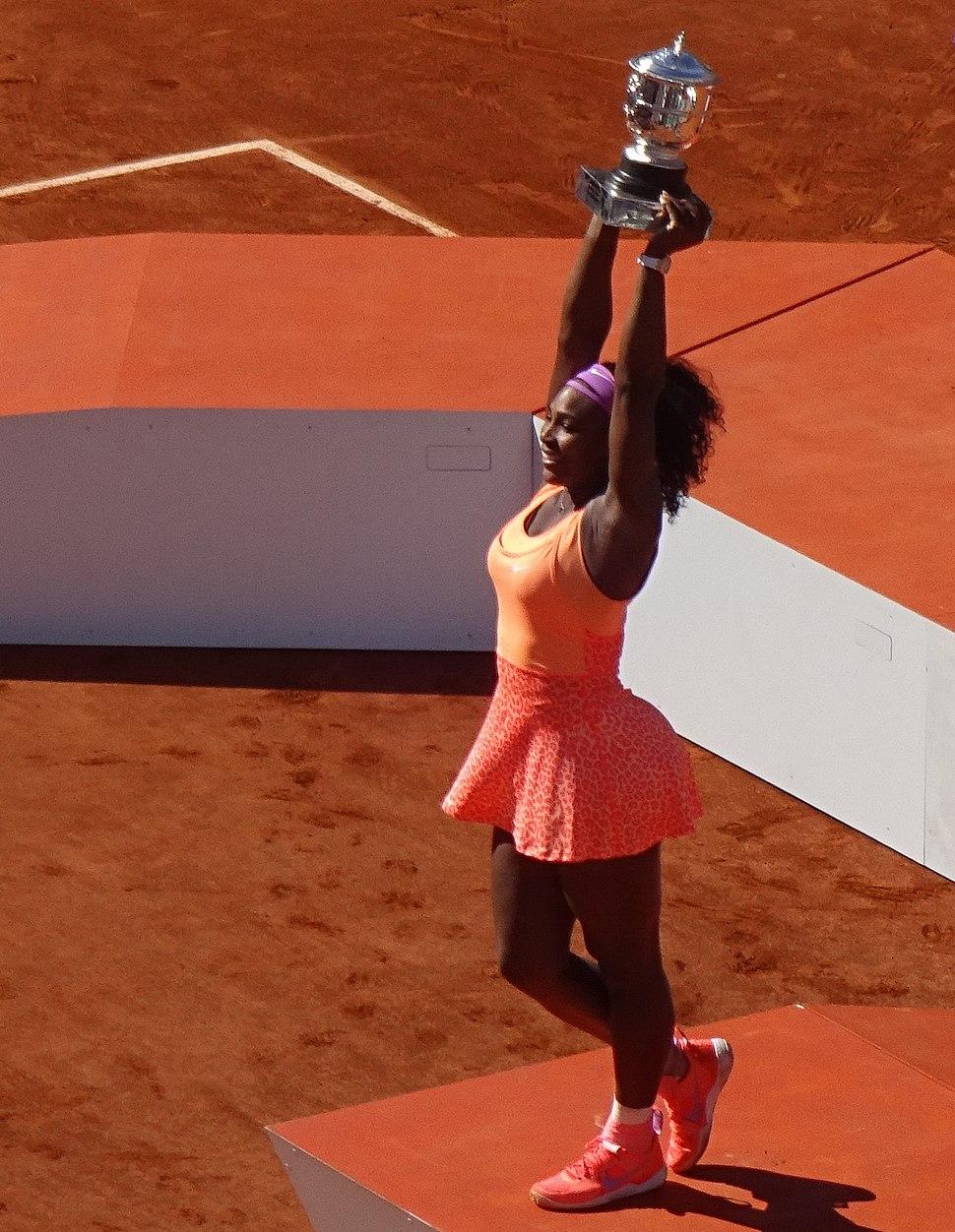Serena Williams Won Roland Garros in 2015.JPG