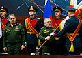 Sergey Shoigu and Ruslan Tsalikov (2016-01-29).jpg