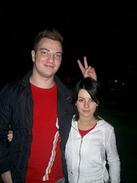 Sergio Galoyan and Julia Volkova in 2004.jpg