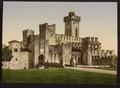 Sermione (i.e. Sirmione) Castle, Lake Garda, Italy-LCCN2001700835.tif