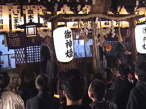 Setsubun - Tokuan shrine