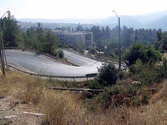 Motza Illit - Image: Seven Sisters Road Moza Illit