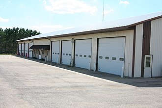Seward Township, Winnebago County, Illinois - Combined township building and fire station