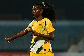Shadeene Evans Australian soccer player