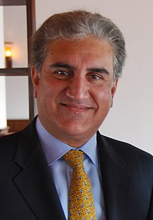 Shah Mahmood Qureshi Pakistani politician
