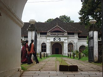 Sakthan Thampuran - A view of the entrance of Shakthan Thampuran Palace where he was cremated.