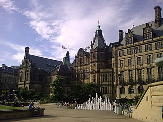 Sheffield City Council - Image: Sheffield Town Hall