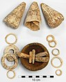 Shell jewellery from the Bourewa Lapita site, Fiji.jpg
