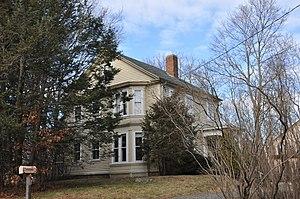 Rev. Edmund Dowse House - Image: Sherborn MA Rev Edmund Dowse House