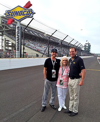Eddie Sachs - Image: Sherry macdonald rich macdonald eddie sachs at indy 2016