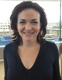 Sheryl Sandberg American technology executive, activist, and author