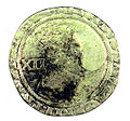 Shilling of James I - Counterfeit (YORYM-1995.109.07) obverse.jpg