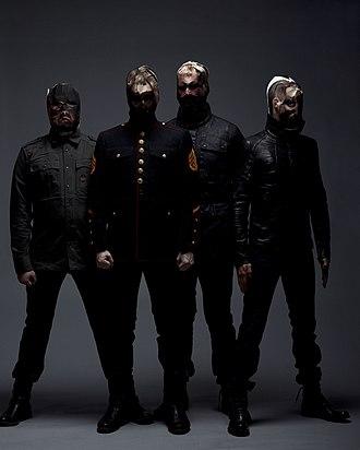 Shining (Norwegian band) - Shining from left: Torstein Lofthus, Tor Egil Kreken, Bernt Moen, Jørgen Munkeby (2009)