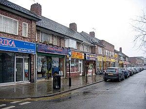 Shirley, West Midlands - Shops on Stratford Road, Shirley