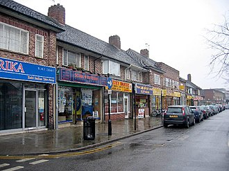 Shirley, West Midlands - Shops on Stratford Road, Shirley