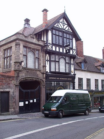 English: Shrewsbury - Family Research Centre P...
