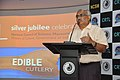 Shrikant Pathak Addresses - Edible Cutlery Demonstration Programme - CRTL Silver Jubilee Celebration - NCSM - Kolkata 2018-05-11 0408.JPG