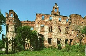 Siedlisko, Nowa Sól County - Castle ruins