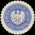 Siegelmarke Gemeinde-Vorstand zu Lokstedt Kreis Pinneberg W0382941.jpg