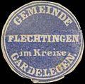 Siegelmarke Gemeinde Flechtingen W0343127.jpg