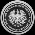 Siegelmarke Hofmarschall - Amt Seiner Königlichen Hoheit des Prinzen Heinrich von Preussen W0205416.jpg