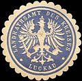 Siegelmarke Landrathsamt des Kreises - Luckau-Lausitz W0216695.jpg